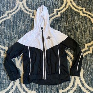 Men's Nike Windbreaker Jacket Sz M Full Zip EUC